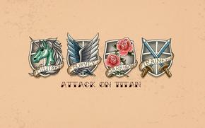 Wallpaper rose, game, Police, flower, anime, wings, ken, blade, asian, manga, Military Police, unicorn, japanese, oriental, ...
