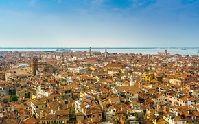 Picture the sky, the building, panorama, Venice