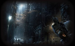 Picture New York, Agent, Tom Clancy's, The Division, Kriss Vector