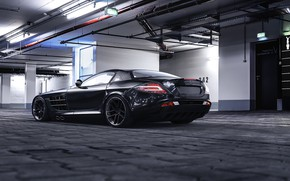 Picture garage, car, SLR MCLAREN