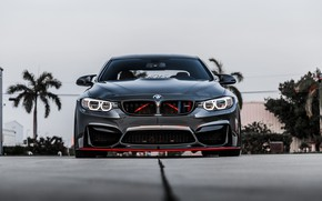 Picture BMW, Front, Gray, Face, Strict, Sight, F83