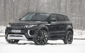 Picture winter, snow, Range Rover, Evoque, Autobiography, Si4
