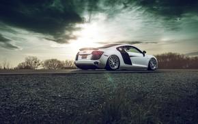 Picture Audi, Wheels, Aristo, Rear, R8, Autovault