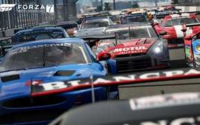 Picture car, game, cars, race, speed, Forza Motorsport, Forza Motorsport 7