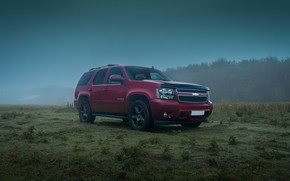 Picture chevrolet, fog, tahoe