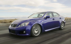 Picture road, Lexus, IS-F, sedan