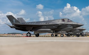 Picture fighter, UNITED STATES AIR FORCE, F-35B