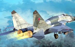 Picture Fulcrum, OKB MiG, The MiG-29SMT, Soviet multipurpose fighter