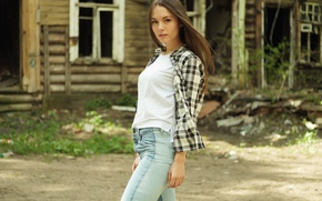 Picture summer, face, style, model, hair, cutie, Nastya