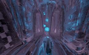 Picture abstraction, scifi, blender3d, 3dart, blender render