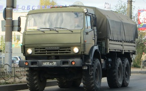 Picture Truck, Rover, KamAZ-5350