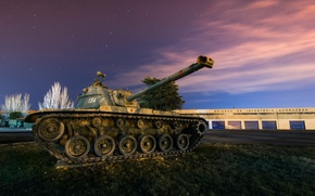 Picture army, tank, M-48