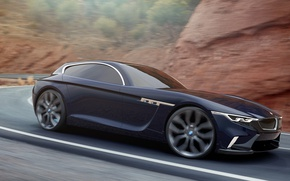 Picture road, mountains, Car, BMW Z3 Coupe Design Esa Mustonen