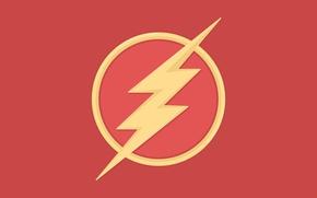 Picture vector, logo, image, DC comics, The Flash, Barry Allen