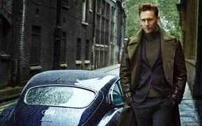 Wallpaper car, jaguar, Tom Hiddleston