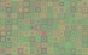 Picture mosaic, abstract, geometry, square, background, mosaic, geometric, abstractia, concentric