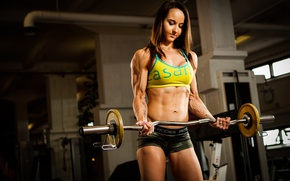 Wallpaper workout, fitness, bodybuilder, emmi juhala