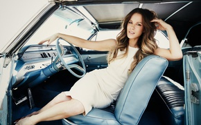 Picture pose, chair, makeup, figure, actress, the wheel, hairstyle, Kate Beckinsale, brown hair, Kate Beckinsale, beauty, …
