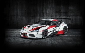Picture Toyota, 2018, wing, racing car, GR Supra Racing Concept