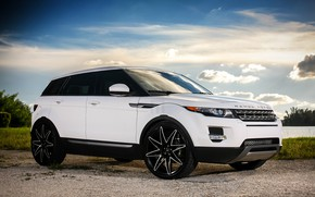 Picture wheels, Land Rover, Evoque, Luxury, lowered