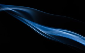 Picture Blue, Black, Shadow, Smoke, Background