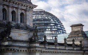Picture Germany, the dome, Berlin, The Reichstag