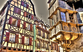Picture HDR, Home, The city, Germany, Windows, Building, Germany, Town