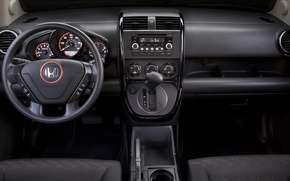 Picture the wheel, Honda, salon, dashboard, element