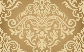 Picture gold, texture, gold, ornament, style, color, seamless background