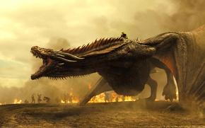 Wallpaper Khaleesi, Drogo, Game of Thrones, queen, A Song of Ice and Fire, Daenerys Targaryen, tv ...