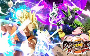 Picture Dragon, Fighting, Ball, Fighterz