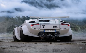 Picture car, back, Huratach, Chunky Bull, Huracan taillights work pretty well