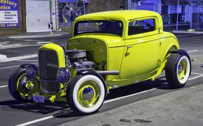 Picture Ford, Model, Hot Rod, 1932, Custom