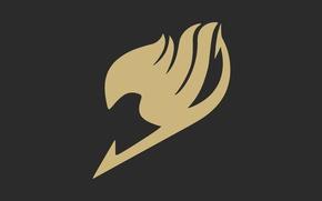 Picture logo, game, anime, fairy, manga, Fairy Tail, coat of arms, mahou