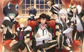 Picture anime, guys, Katekyo Hitman REBORN!, Varia
