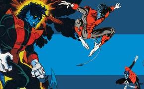 Picture X-Men, Marvel Comics, Nightcrawler, mutant, Kurt Wagner