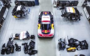 Picture Auto, Sport, Machine, Speed, Top, Peugeot, Garage, Red Bull, Rally, Dakar, Dakar, SUV, Rally, Sport, …
