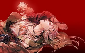 Picture anime, art, tears, Touken ranbu, Dance Of Swords