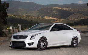Picture coupe, cadillac, ats