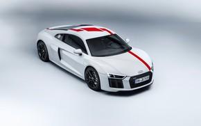 Picture supercar, Audi R8, 2018, V10, RWS