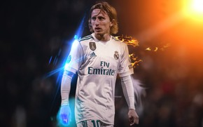 Wallpaper sport, player, Croatia, Real Madrid, Luka Modric