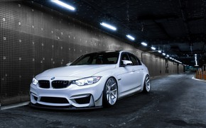 Picture BMW, Light, White, F80, Sight, LED
