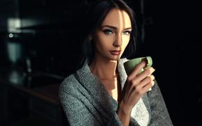 Picture portrait, Cup, Xenia, Sergey Fat, Sergey Zhirnov, Ksenia Alekseevskaya