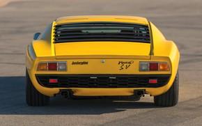 Picture Color, Auto, Yellow, Lamborghini, Machine, Bright, 1971, Car, Lamborghini, Supercar, Lamborghini Miura, P400, SVJ, Lamborghini …
