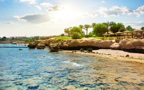 Picture The sky, Nature, Stones, Egypt, Coast, Resorts, Sharm el Sheik