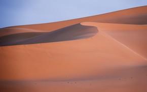 Picture sand, landscape, desert, Sands, Mongolia, Gobi