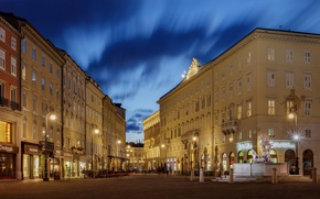 Picture lights, the evening, Italy, Italia, Trieste, Trieste