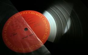 Picture macro, vinyl, records