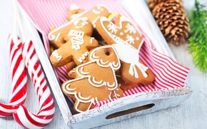 Picture Xmas, New Year, Merry Christmas, cookies, New Year, Christmas, wood, cookies, decoration, cinnamon, gingerbread, gingerbread, …