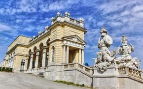 Picture Austria, Palace, Vienna, The Gloriette At Schönbrunn